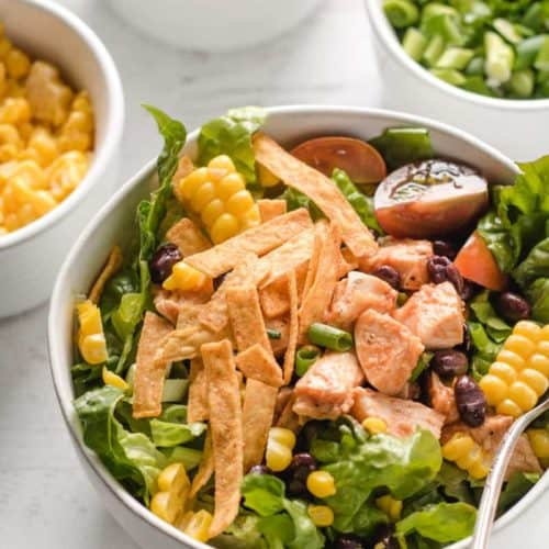 Southwest Bbq Chicken Salad Wheat By The Wayside
