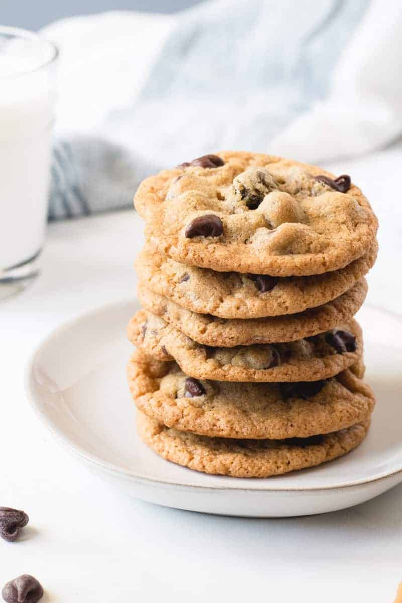 THE BEST GLUTEN FREE CHOCOLATE CHIP COOKIES WHEAT BY THE WAYSIDE